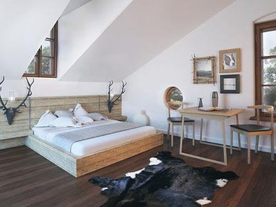 Resort Ostrůvek - ukázka bytu