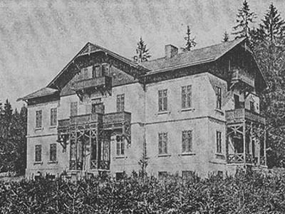 Resort Ostrůvek - staré foto